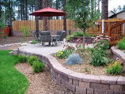 simple landscaping ideas. Garden Ideas:Landscaping Ideas Backyard Small On Budget â\u20ac\u201d Hoffmans Santacruz Image Of Simple Landscaping