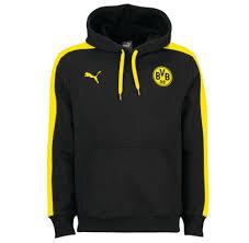 puma yellow hoodie. 2016-2017 borussia dortmund puma t7 hoody (black) yellow hoodie