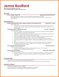 9 Recent College Graduate Resume Template The Stuffedolive Restaurant