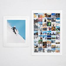 We all have precious memories in our lives that we want to remember forever. Instagram Grid Poster Print Your Instagram Photos On A Poster Social Print Studio