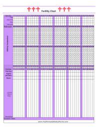 Calendar Birth Control Chart Fertility Awareness From Birth