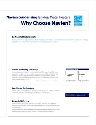 navien venting chart navien condensing 98 tankless water heaters tankless water