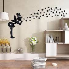 image of black wall mirror for bedroom