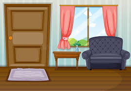 clean living room. Download A Clean Living Room Stock Vector. Illustration Of Door - 31338992