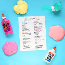how to make slime without glue
