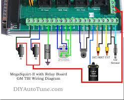 tbi wiring schematics tbi image wiring diagram megasquirt ii relay board gm tbi wiring diagram joshua on tbi wiring schematics