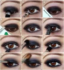 this is a profound dark smokey eye look and is a on the off chance that you need to keep everything dark the steps are not difficult to take after