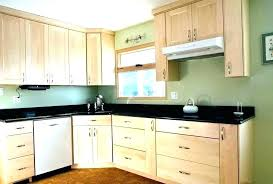 Kitchen Colors With Light Wood Cabinets Custom Decorating Design