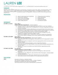 Awesome Collection Of 911 Dispatcher Resume Objectives Police