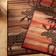 soar moose area rug designs