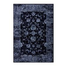 samira navy blue traditional area rug 6 7 x 9 2 only