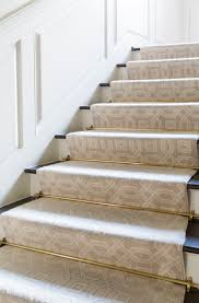 Carpet Options For Stairs Step By Step The Latest Trends In Stair Runners The Daily Basics