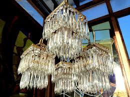 Beautiful Romantic Ice Glass Chandelier Pendant Lamp Sorry