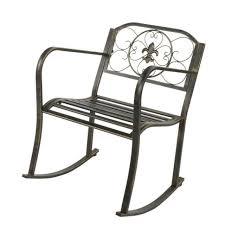 mark teak porch rocker rocking chair
