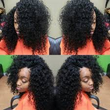 Hairstyles Without Weave Hair For Days Quick Weave With Invisible Part No Leave Out