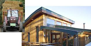 Eco self build house. This straw bale ...