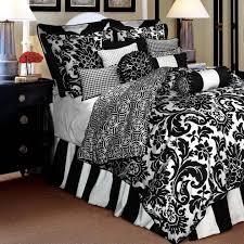 black and white damask sheet set solid graphikworks co