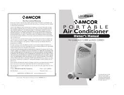 Amcor Air Conditioner Comp Light Amcor Air Conditioner 000e Eh User Manual Manualzz Com