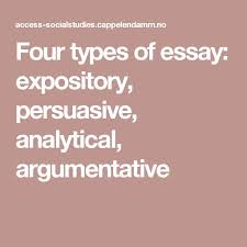 of essay writing kind of essay writing