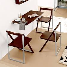 dining room folding chairs. Wood Wall Mounted Fold Down Small Dining Table Design For Saving Room Spaces And Espresso Folding Chairs Ideas O
