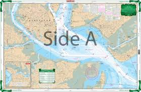 Charleston Harbor Chart 11524 Charleston Harbor Large Print Navigation Chart 95e