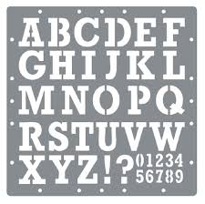 printable printable cut out letters and numbers templates