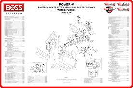 boss parts depot Boss Plow Wiring Parts [download power v, power v xt parts diagram] boss plow wiring parts
