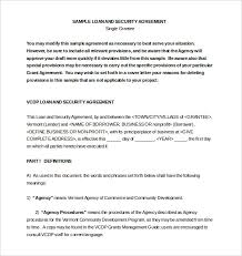 loan and security agreement template. security agreement template Teachengus