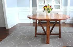 diy round dining table round trestle dining table free plans rogue engineer 4 diy dining table