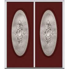 mmi door 64 in x 80 in heirloom master left hand inswing oval