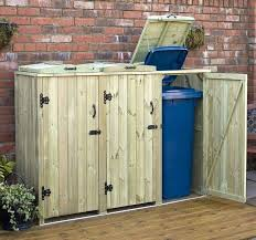 full size of outdoor toy storage garbage shed bench metal trash can bin bins cabinet small outdoor trash can garbage storage bin