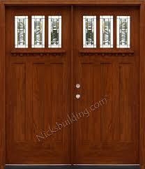craftsman double front door. Craftsman Double Front Door