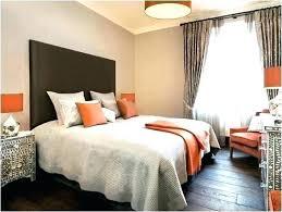 Brown And Orange Bedroom Ideas Interesting Inspiration