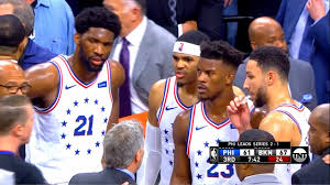 76ers Vs Nets Almost FIGHT After a HARD ...
