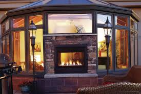 50 inspiring design for double sided fireplace indoor outdoor
