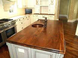 butcher block countertops pros and cons with leaf