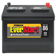 Car Battery Interchange Chart Everstart Maxx Lead Acid Automotive Battery Group 86