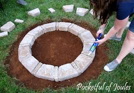 best of how to build a fire pit with rocks calm also diy steel also stone