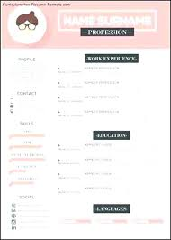 Free Mac Resume Templates Cool Modern Resume Sample 48 Format Template Free Creative Templates