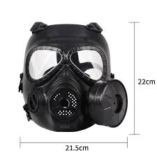 M40 Gas Mask Size Chart Us 11 17 27 Off M40 Single Fan Gas Mask Filter Paintball Shooting Tactical Army Guard Air Gun Helmet In Helmets From Sports Entertainment On