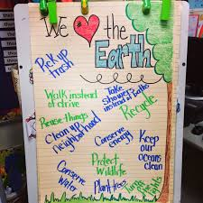 Earth Day Anchor Chart Totally Terrific In Texas April 2014