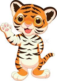 cute animated baby tigers.  Animated Vector Illustration Of Cute Baby Tiger Cartoon Waving  Stock  Colourbox And Animated Baby Tigers I