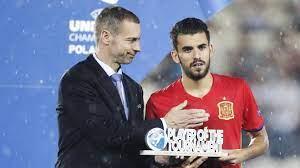 Spieler des Turniers bei der U21-EURO 2017: Dani Ceballos | UEFA U21-EM