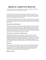 Soft Skills Resume Medical Assistant Skills For Resume Good Medical Assistant Resume 50