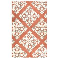 rust colored rugs rust damask area rug rub a liked on featuring home rust colored kitchen