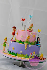 Tinkerbell Birthday Cakes The Cake Is Just A Dummy Cake Because