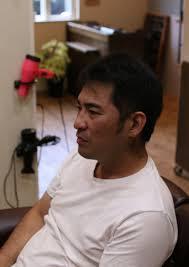 40代の髪型ワイルドな男に似合うスタイルは 茨城県北茨城市の男性