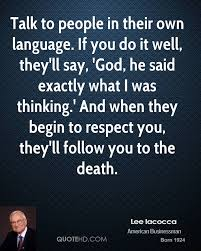 Lee Iacocca Quotes Quotehd