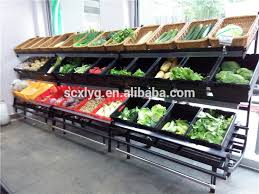 Fruit And Vegetable Stands And Displays Inspiration 32 Tiers Wholesale Display Stand Metal Veg Shelves Buy Wholesale