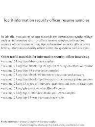 Security Resumes Samples Security Resume Network Security Resumes ...